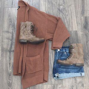 Express long cozy cardigan ~ Size Medium